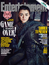 GAME OF THRONES: MAISIE WILLIAMS (ARYA STARK)