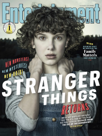 STRANGER THINGS RETURNS - MILLIE BOBBY BROWN