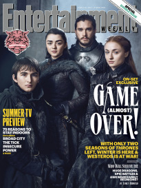 GAME OF THRONES: GROUP SHOT OF THE FOUR