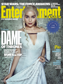 DAME OF THRONES: EMILIA CLARKE AS DAENERYS