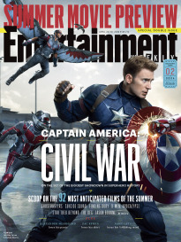 CAPTAIN AMERICA: CIVIL WAR SET OF ALL 4 COVERS