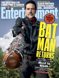 THE WALKING DEAD - BAT MAN RETURNS