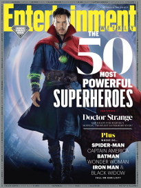 THE 50 MOST POWERFUL SUPERHEROES
