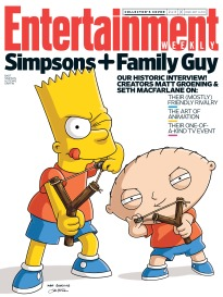 SIMPSONS + FAMILY GUY - BART & STEWIE