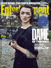 DAME OF THRONES: MAISIE WILLIAMS AS ARYA STARK