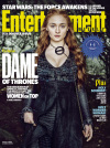 DAME OF THRONES: SOPHIE TURNER AS SANSA STARK