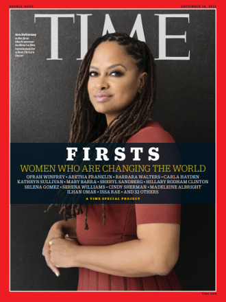 TIME FIRSTS Cover - Ava DuVernay