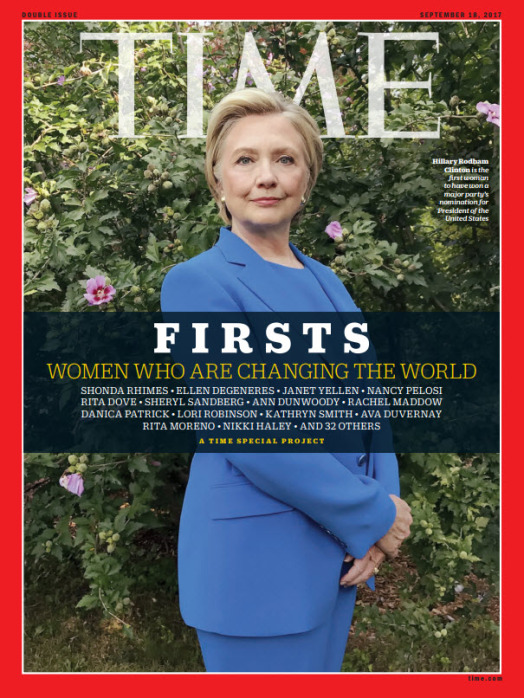 TIME FIRSTS Cover - Hillary Rodham Clinton