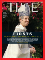 TIME FIRSTS Cover - Katharine Jefferts Schori