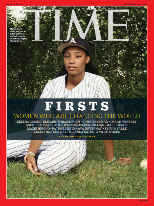 TIME FIRSTS Cover - Mo'ne Davis
