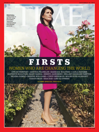 TIME FIRSTS Cover - Nikki Haley
