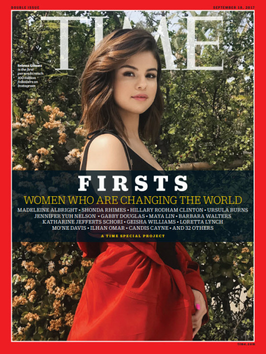 TIME FIRSTS Cover - Selena Gomez