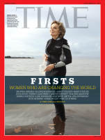 TIME FIRSTS Cover - Sylvia Earle
