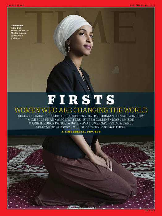 TIME FIRSTS Cover - Ilhan Omar