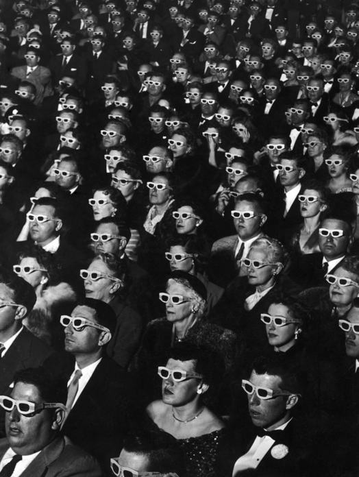 Bwana Devil in 3-D at the Paramount Theater, by J.R. Eyerman, 1952