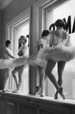 Scene at the School of American Ballet, by Alfred Eisenstaedt, 1936