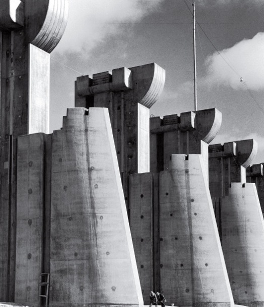 Fort Peck Dam, by Margaret Bourke-White, 1936