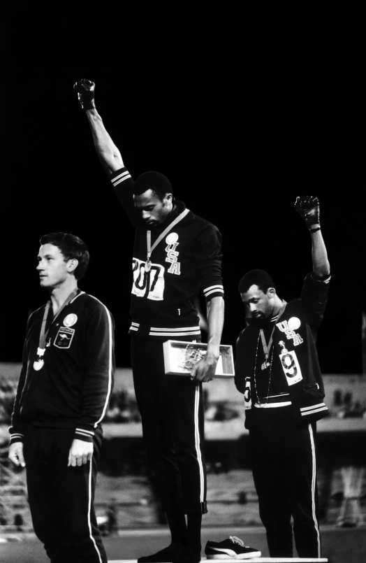 Black Power Salute, by John Dominis, 1968