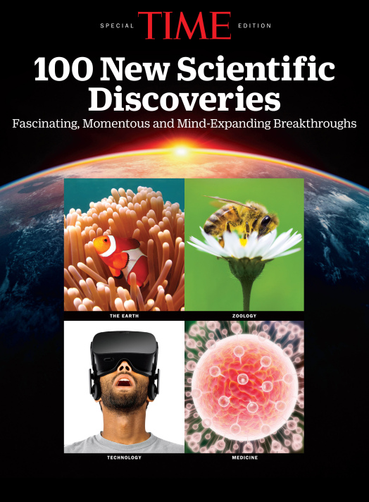 100 New Scientific Discoveries