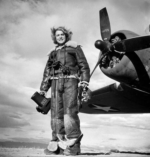 LIFE Photographer Margaret Bourke-White, 1943, by Margaret Bourke