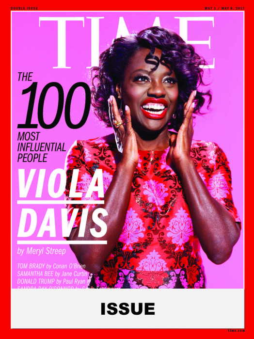 TIME 100 Issue- Viola Davis