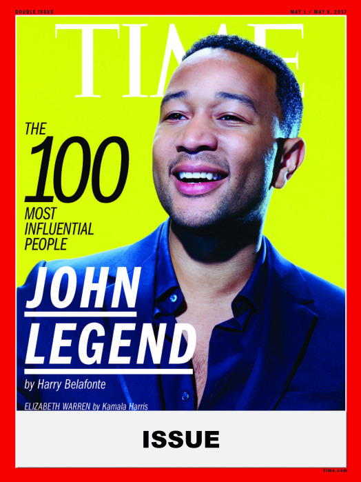 TIME 100 Issue- John Legend