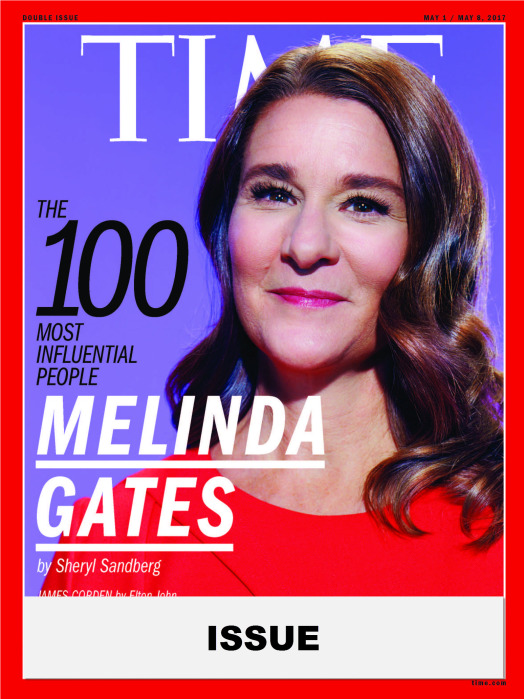 TIME 100 Issue- Melinda Gates