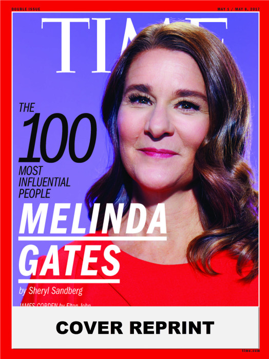 TIME 100 COVER - MELINDA GATES
