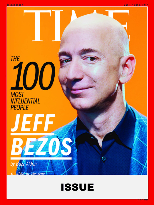 TIME 100 Issue- Jeff Bezos