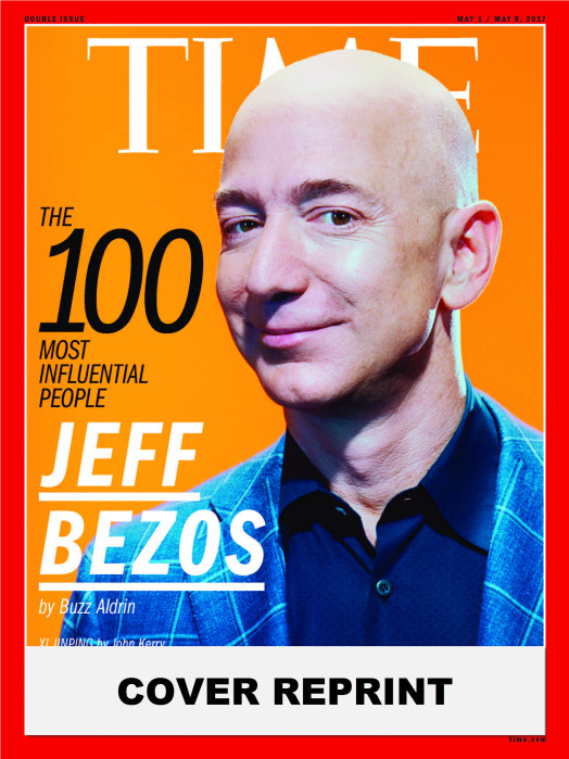 TIME 100 Cover - Jeff Bezos