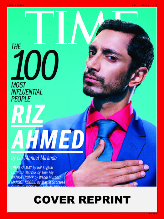 TIME 100 COVER - RIZ AHMED