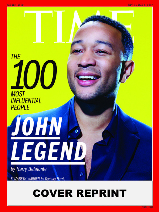 TIME 100 COVER - JOHN LEGEND