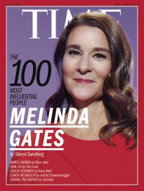 THE 100 MOST INFLUENTIAL PEOPLE - MELINDA GATES