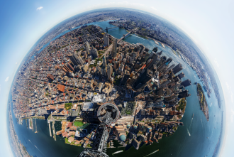 World Trade Center Panorama,  by Jonathan D. Woods and Michael Franz, 2013