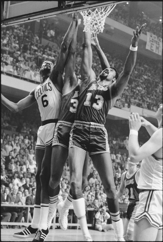 Nba Finals Boston Celtics Bill Russell Vs Los Angeles