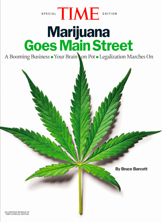 Time Marijuana Goes Main Street