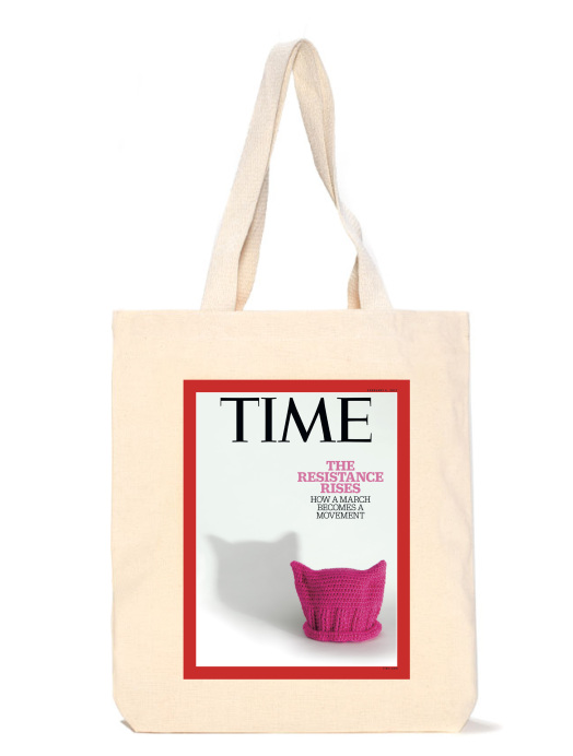 The Resistance Rises 2017 TIME Cover Tote Bag