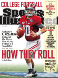 HOW THEY ROLL AJ MCCARRON OF ALABAMA