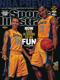 NBA PREVIEW LAKERS' STEVE NASH - DWIGHT HOWARD