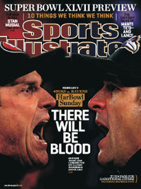 THERE WILL BE BLOOD JIM AND JOHN HARBAUGH