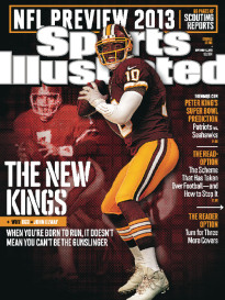 NFL PREVIEW 2013 ROBERT GRIFFIN III