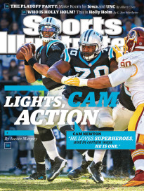 LIGHTS, CAM, ACTION - CAM NEWTON