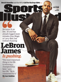 THE URGENCY OF LEBRON JAMES
