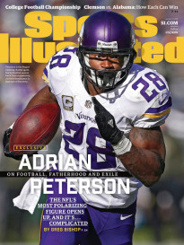ADRIAN PETERSON ON FOOTBALL, FATHERHOOD AND EXILE