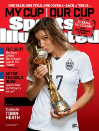 Uswnt Tobin Heath 17 Sports Illustrated Back Issues Store