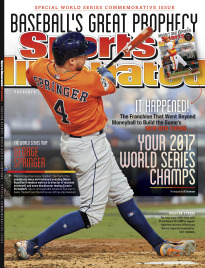 SI PRESENTS:2017 WORLD SERIES CHAMPS GEORGE SPRING