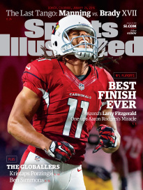 BEST FINISH EVER - ARIZONA'S LARRY FITZGERALD