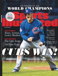 SI PRESENTS:2016 WORLD SERIES CHAMPS-ANTHONY RIZZO