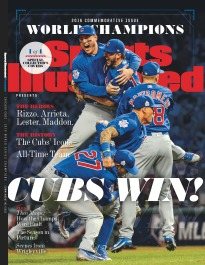SI PRESENTS: 2016 WORLD SERIES CHAMPS - TEAM CUBS