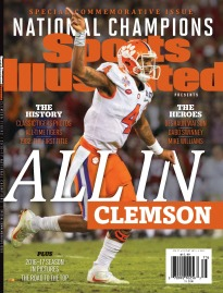 SI PRESENTS: 2016-17 COLLEGE FB CHAMPS - CLEMSON